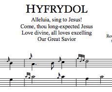 'HYFRYDOL' (downloadable PDF)